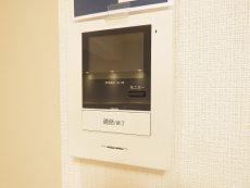 飯田橋第一パークファミリア TVモニター付きインターホン