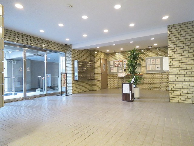 飯田橋第一パークファミリア エントランスホール