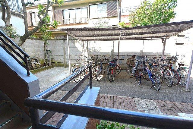 柿の木坂サニーハイツ エントランス
