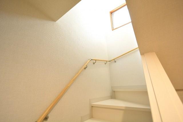 セボン柿の木坂 階段↑