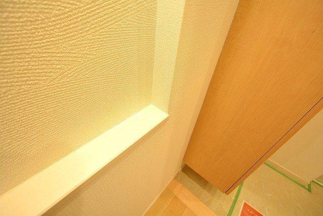 柿の木坂サニーハイツ 玄関