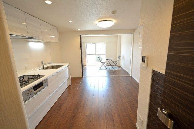 経堂セントラルマンション3F キッチン