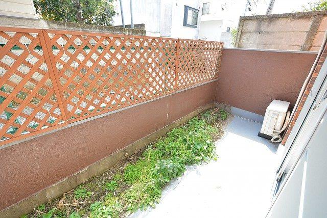 柿の木坂サニーハイツ バルコニー