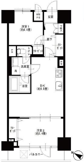 クレベール西新宿