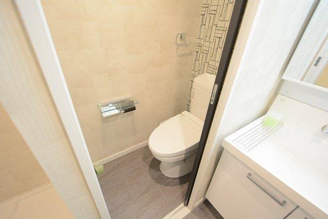 上馬マンション トイレ