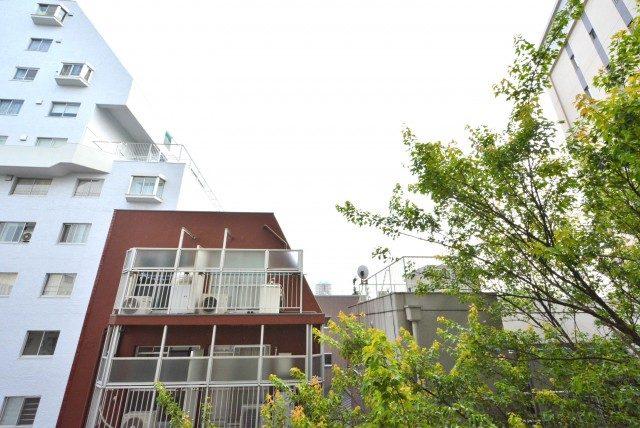朝日目白台マンション 南側バルコニー
