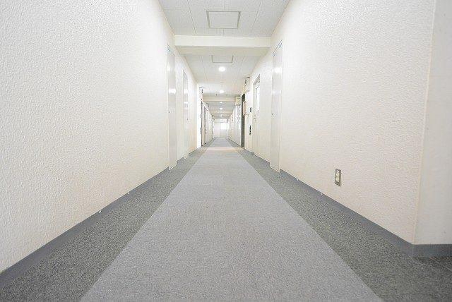 玉川台スカイマンション内廊下
