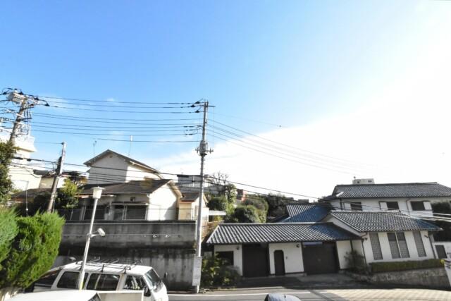 カサベルド富士見 バルコニー