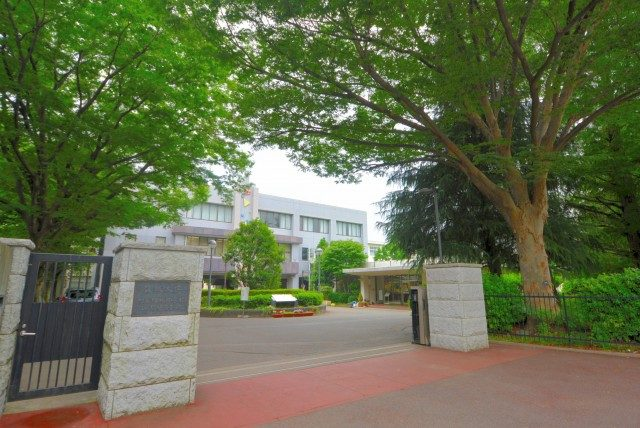 池尻大橋周辺 學校