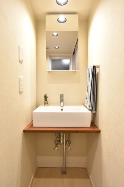 カサベルド富士見 洗面室