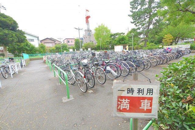 南砂町 (10)自転車が主流