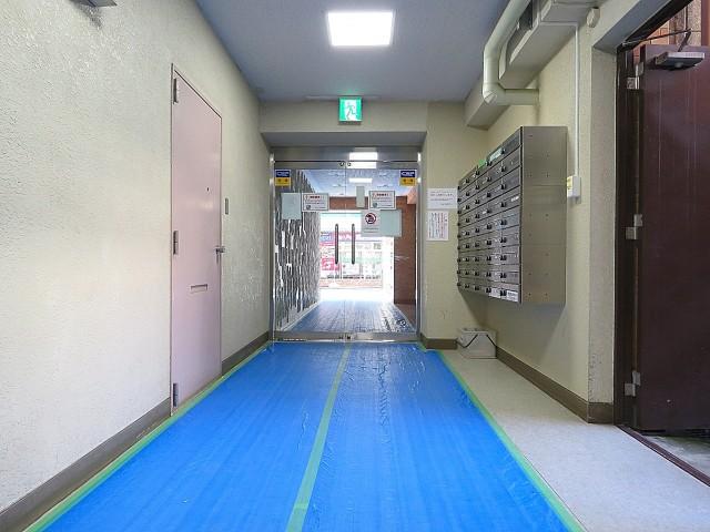 MSマンション阿佐谷 エントランスホール