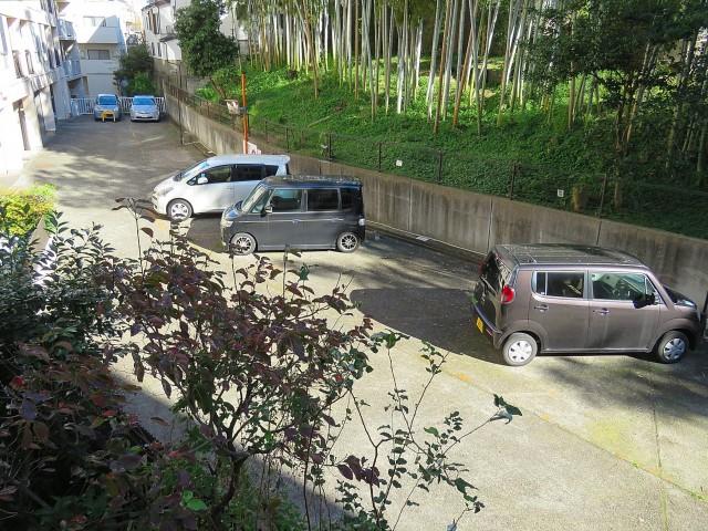 久我山コーポラス 駐車場