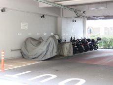 三田ナショナルコート バイク置場