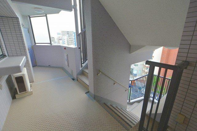 ライオンズマンション渋谷第2 廊下