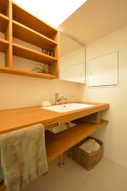 広尾マンション 洗面室