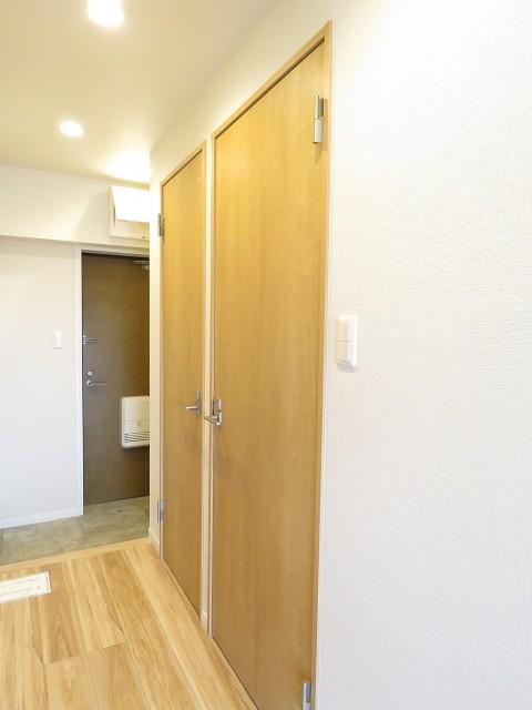 中銀桜新町マンシオン 洗面室