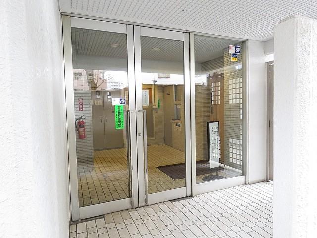 中銀桜新町マンシオン エントランス