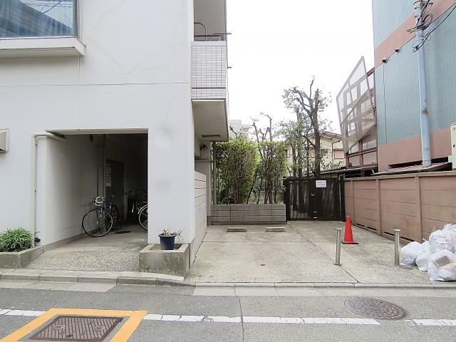 中銀桜新町マンシオン 駐輪場