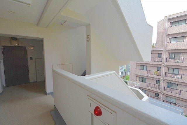 セブンスターマンション第二青葉台 外廊下