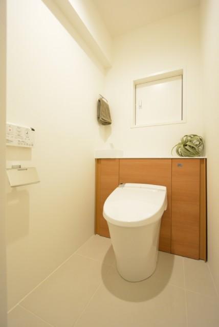 広尾マンション トイレ
