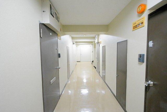 柿の木坂スカイマンション 廊下