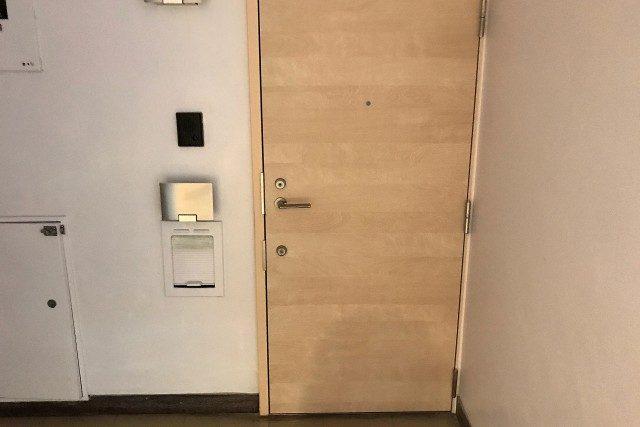 マンション市ヶ谷 (11)玄関