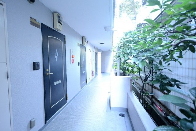 ライオンズマンション渋谷本町111 共有廊下(9)