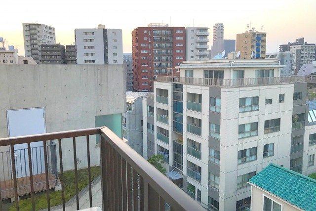 マンション市ヶ谷 (98)バルコニー