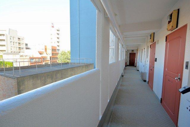 四谷コーエイマンション 外廊下