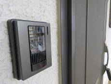 都立大コーポラス TVモニター付きインターホン