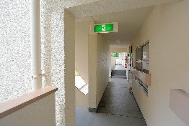 桜丘フラワーマンション 外廊下