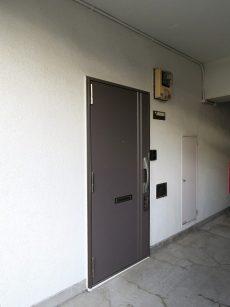 柏木ローズマンション 玄関扉