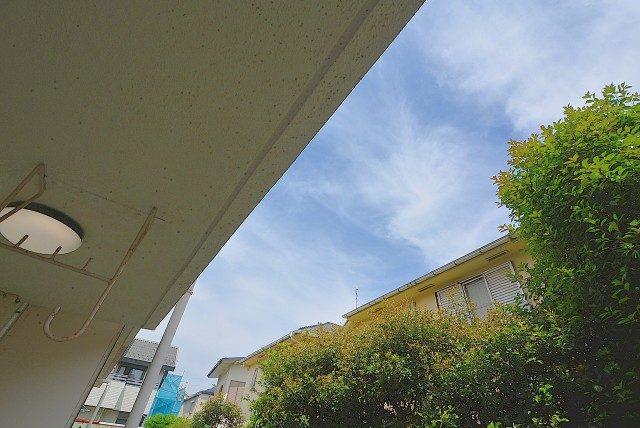 桜丘フラワーマンション バルコニー