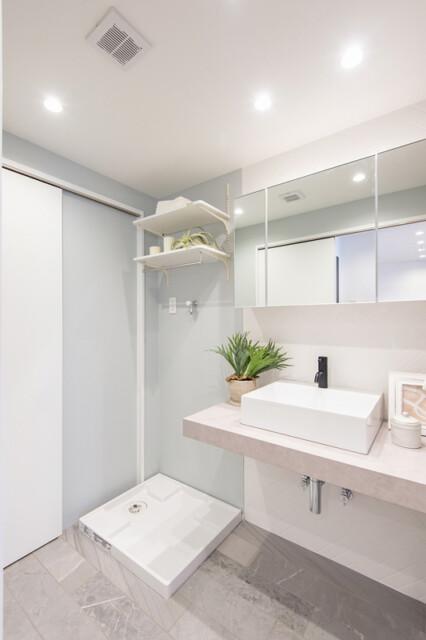 パシフィック白金台 洗面室