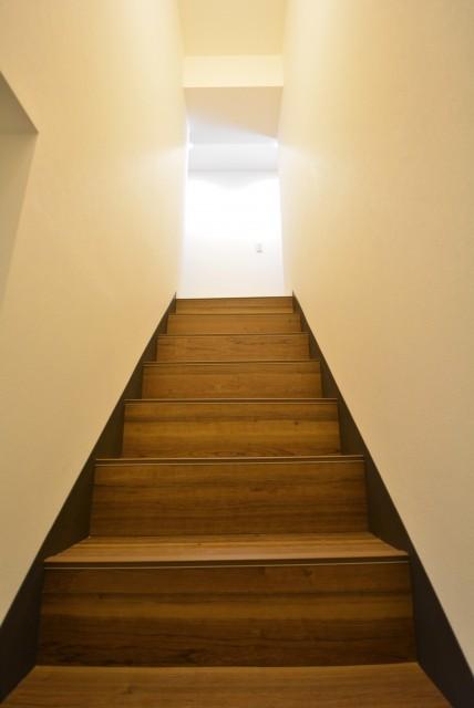 マンション池上 階段
