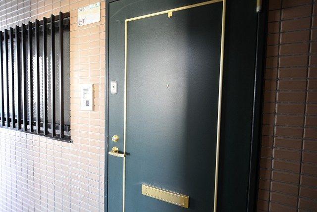 マイキャッスル駒場ヒルズ 玄関
