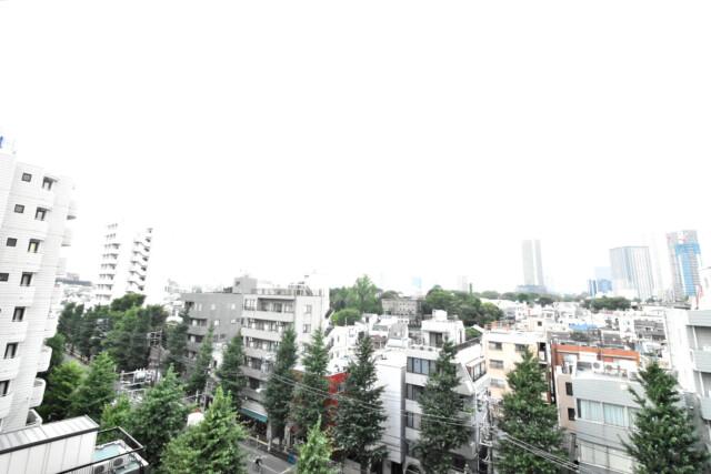 ライオンズマンション目白台シティ バルコニー
