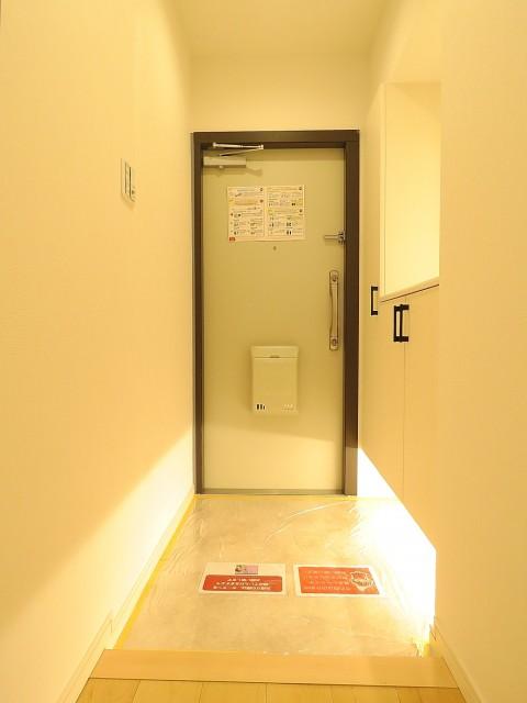 多摩川芙蓉ハイツ 玄関ホール