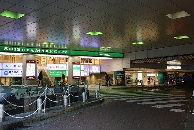 渋谷ー神泉周辺 渋谷駅