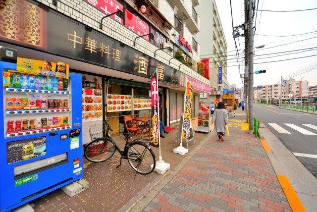 中野富士見町駅周辺