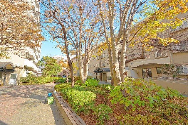 小松川グリーンハイツ 中庭