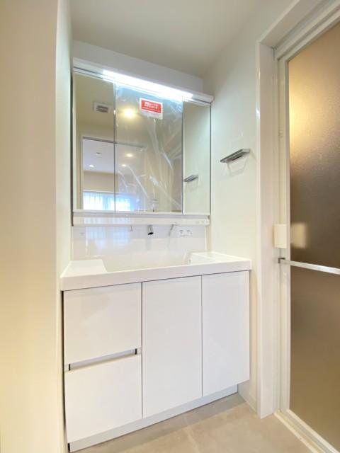 デ・リード日本橋箱崎 洗面室