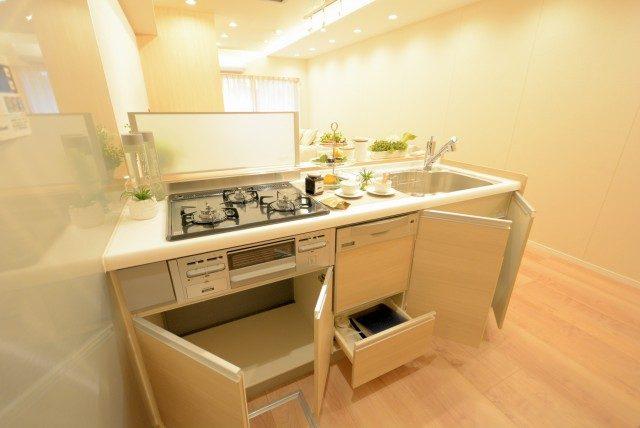 新宿御苑サニーコート キッチン