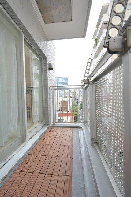 エスポワール渋谷松濤 バルコニー