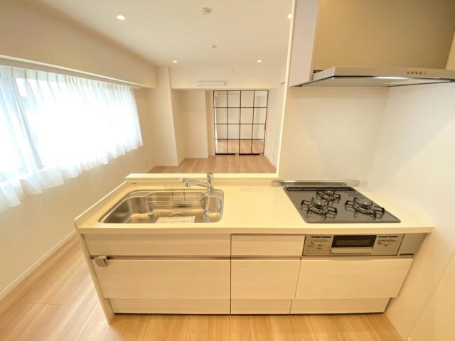 デ・リード日本橋箱崎 キッチン