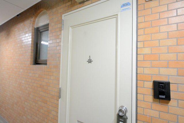 キャッスルマンション荒木町 1 玄関
