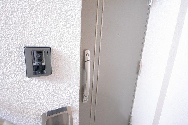 上野毛ハイム1号棟 玄関