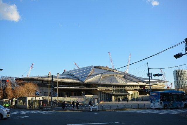 新宿ー代々木 東京体育館