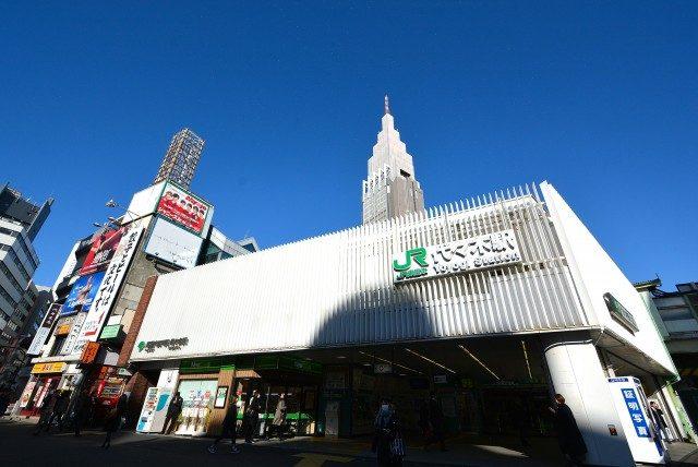 新宿ー代々木 代々木駅